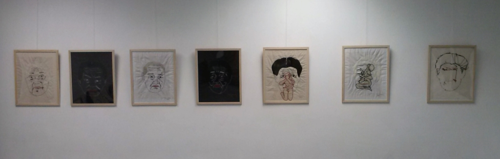 Exhibition, in Madrid, Spain